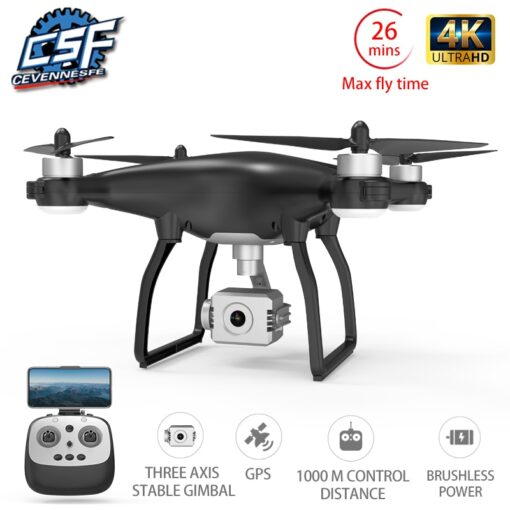 2020 NEW X35 Drone WiFi GPS 4K HD Camera Profissional Brushless Motor Drones Gimbal Stabilizer 26