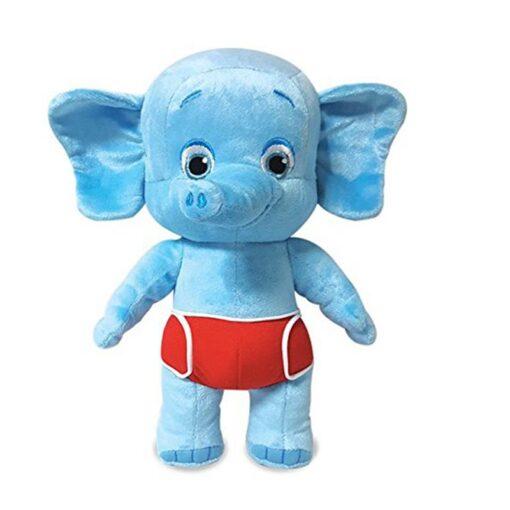 2020 New Arrival 25cm Word Party Plush Toys Panda Elephant Leopard kangaroo Stuffed Animals Dolls For 1