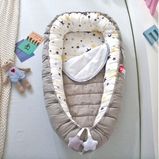 2020 New Baby Nest Bed Portable Cribs Travel Bed Baby Bumper Infant Toddler Cotton Cradle For