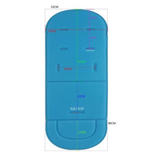2020 New Baby Stroller Comfortable Pad Four Seasons Pram Seat Mat General Soft Seat Cushion Children 1