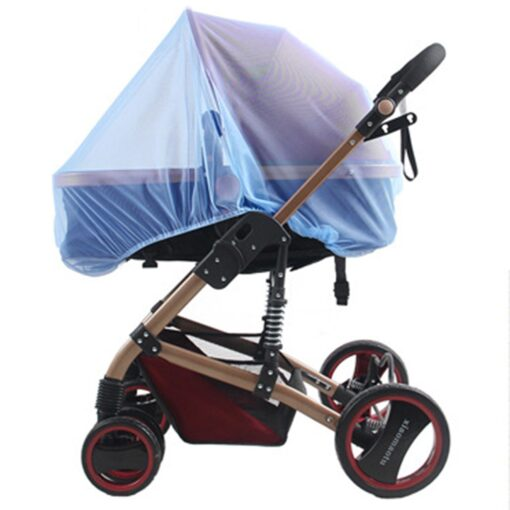 2020 New Baby Stroller Pushchair Mosquito Insect Shield Net Safe Infants Protection Mesh Stroller Accessories Cart 2