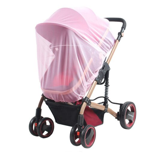 2020 New Baby Stroller Pushchair Mosquito Insect Shield Net Safe Infants Protection Mesh Stroller Accessories Cart