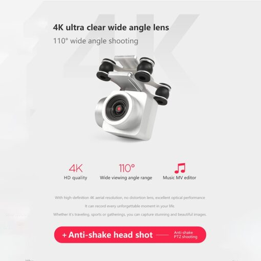2020 New Drone 4k camera HD Wifi transmission fpv drone air pressure fixed height four axis 2