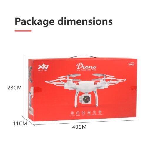 2020 New Drone 4k camera HD Wifi transmission fpv drone air pressure fixed height four axis 3
