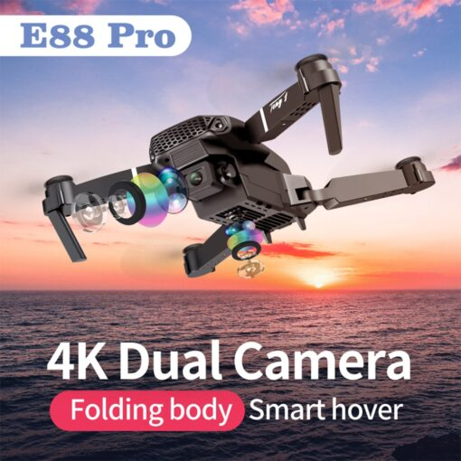 2020 New E88 Pro 4k drone gps drones with camera hd 4k rc airplane dual camera 1