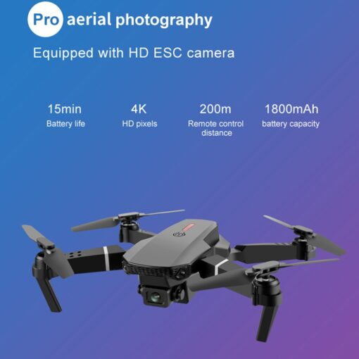 2020 New E88 Pro 4k drone gps drones with camera hd 4k rc airplane dual camera 4