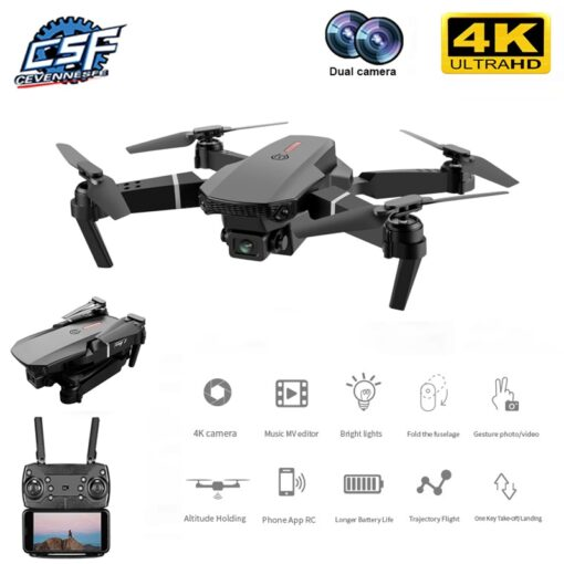 2020 New E88 Pro 4k drone gps drones with camera hd 4k rc airplane dual camera