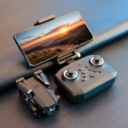 2020 New Mini Drone XT6 4K 1080P HD Camera WiFi Fpv Air Pressure Altitude Hold Foldable