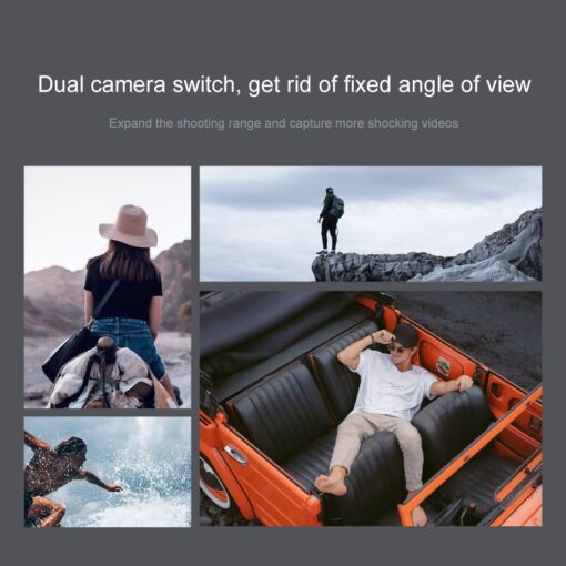 2020 New Mini Rc Drone XT6 4K 1080P HD Dual Camera WiFi FPV Air Pressure Altitude 4