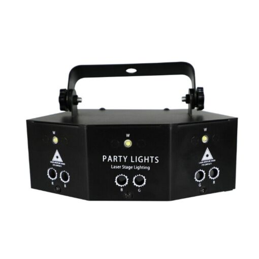 2020 New Remote 9 EYE RGB DMX Scan Projector Laser LED Strobe DJ Party Stage Lighting 2