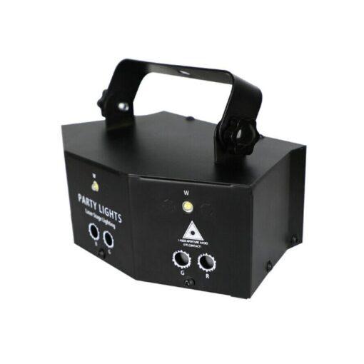 2020 New Remote 9 EYE RGB DMX Scan Projector Laser LED Strobe DJ Party Stage Lighting 3