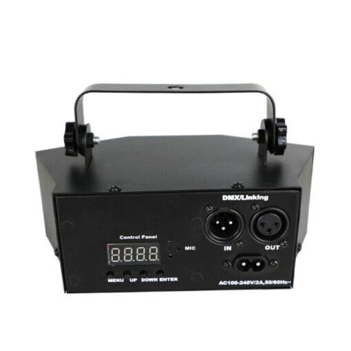 2020 New Remote 9 EYE RGB DMX Scan Projector Laser LED Strobe DJ Party Stage Lighting 4