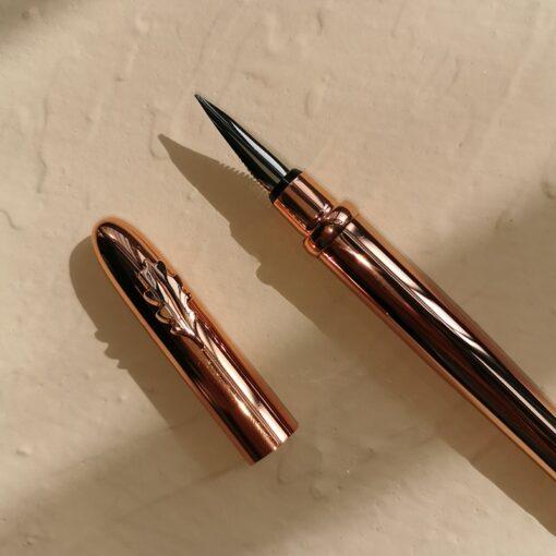 2020 New Rose Gold Fashion Fountain Pen Converter Pen Fine Nib 0 5mm Office School Stationery