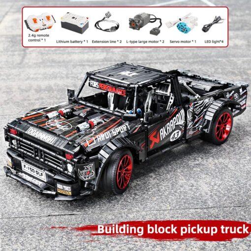 2020 New Technic series Super Racing Car model sets Building block Assemble bricks kids Educational DIY 1