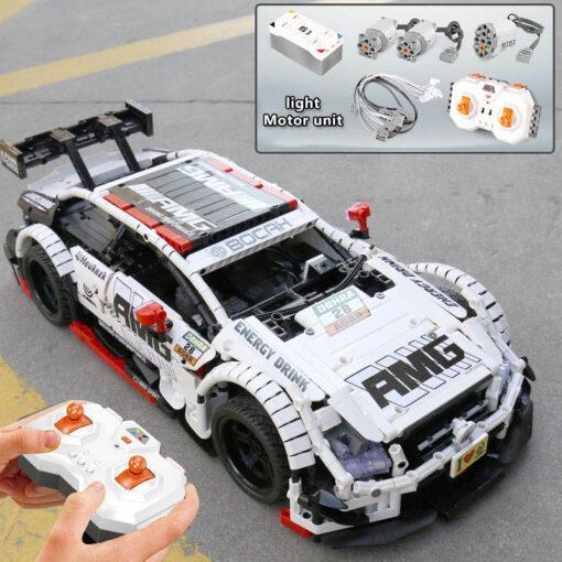 2020 New Technic series Super Racing Car model sets Building block Assemble bricks kids Educational DIY 3