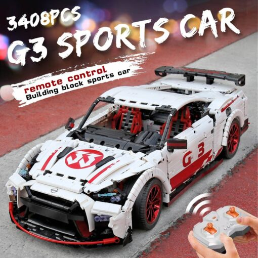 2020 New Technic series Super Racing Car model sets Building block Assemble bricks kids Educational DIY 4