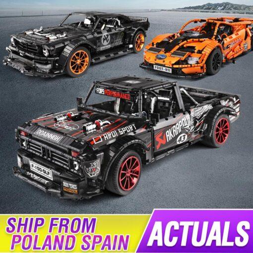 2020 New Technic series Super Racing Car model sets Building block Assemble bricks kids Educational DIY