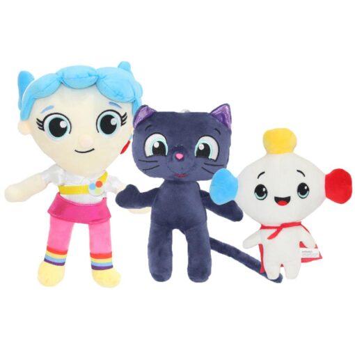 2020 New True and The Rainbow Kingdom Stuffed Plush Toy Bartleby Cat Stuffed Animal Kid Gifts
