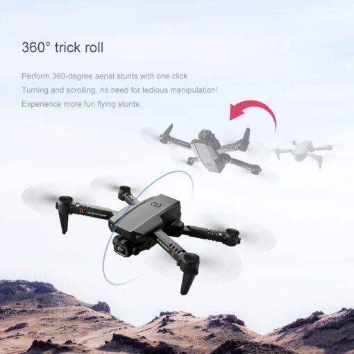 2020 New XT6 Mini 4K Drone HD Double Camera WiFi Fpv Air Pressure Altitude Hold Foldable 2