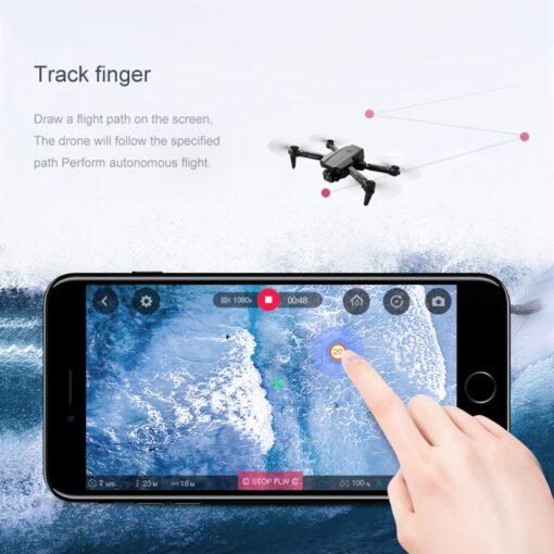 2020 New XT6 Mini 4K Drone HD Double Camera WiFi Fpv Air Pressure Altitude Hold Foldable 5