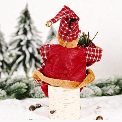 2020 Santa Claus Doll Christmas Ornament Merry Christmas Decorations For Home Xmas Table Decor Navidad Natal 8