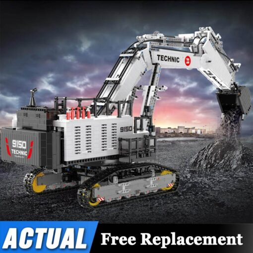 2020 Technic Car Model Compatible With 42100 Liebherrs R 9800 Excavator Building Blocks Bricks Toys Christmas