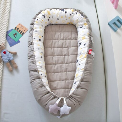 2020New Baby Nest Bed Portable Crib Travel Bed Infant Toddler Cotton Cradle for Newborn Baby Bed 1
