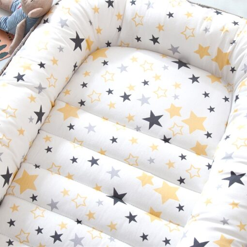 2020New Baby Nest Bed Portable Crib Travel Bed Infant Toddler Cotton Cradle for Newborn Baby Bed 2