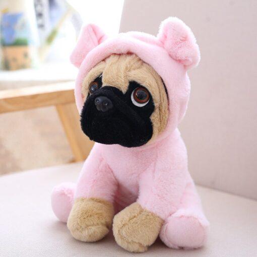 20CM Lovely Puppy Pet Toy Plush Animal Toy Stuffed Simulation Dogs Plush Sharpei Pug Children Kids 3