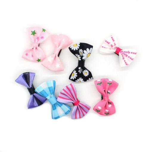 20pcs lot Lovely Hair Clip Cartoon Candy Color Hairpins Rainbow Hair Clip for Girl Kids Children 3