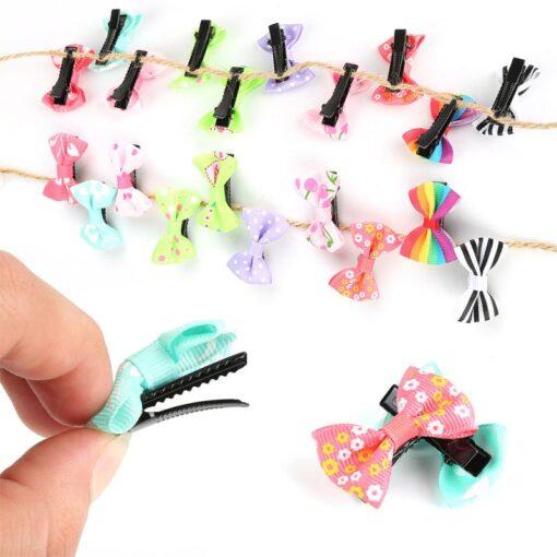 20pcs lot Lovely Hair Clip Cartoon Candy Color Hairpins Rainbow Hair Clip for Girl Kids Children