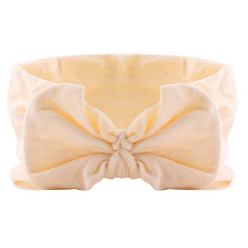 21 Colors Nylon Headband for Baby Girls Baby Boys Soft Bow Knot Turban Hair Bands Baby 3