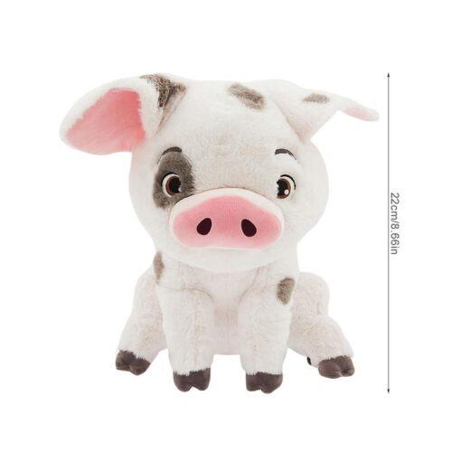 22cm Hot New Movie Soft Stuffed Animals Moana Pet Pig Pua Cute Cartoon Plush Toy Stuffed 5