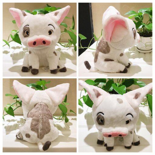 22cm Movie Moana Pet Pig Pua Stuffed Toy Animals Lovely Cute Soft Cartoon Plush Dolls Kids 11