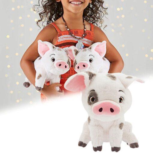 22cm Movie Moana Pet Pig Pua Stuffed Toy Animals Lovely Cute Soft Cartoon Plush Dolls Kids 9