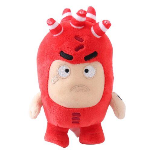 23cm Oddbods Fuse Bubbles Newt Pogo Slick Jeff Bubbles Zee Plush Stuffed Toys Cute Cartoon Anime 1
