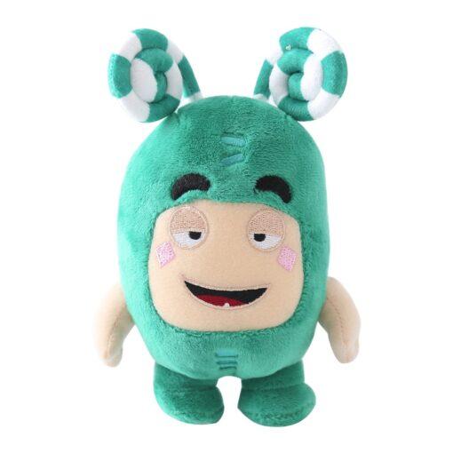 23cm Oddbods Fuse Bubbles Newt Pogo Slick Jeff Bubbles Zee Plush Stuffed Toys Cute Cartoon Anime 4