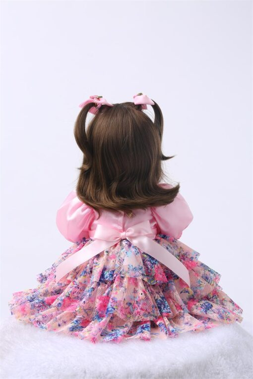 24 Silicone Reborn Toddler Baby Doll Toys 60cm Princess Girl Like Alive Bebe Girls Brinquedos Limited 5