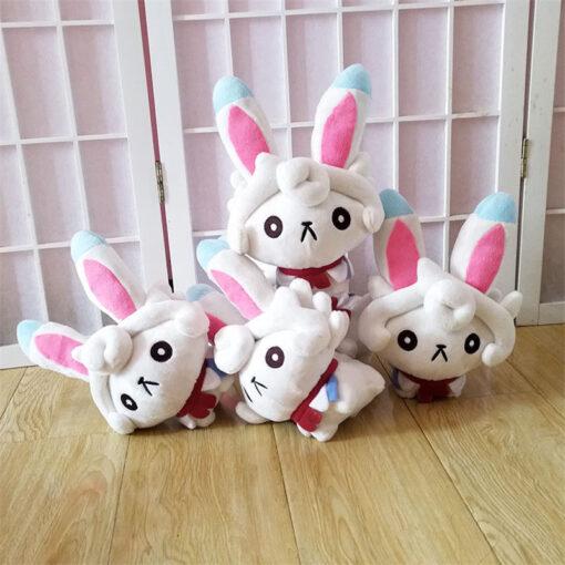 24cm Anime Doll Fate Grand Order FGO Cath Palug Plush Dolls Toy Animal Stuffed Doll Cute 2