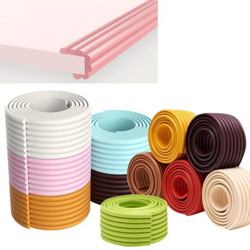 2M Baby Safety Protection Strip Table Desk Edge Guard Strip Corner Protector Furniture Corners Children Safety 1