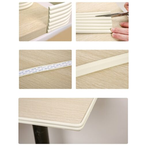 2M Baby Safety Protection Strip Table Desk Edge Guard Strip Corner Protector Furniture Corners Children Safety 5