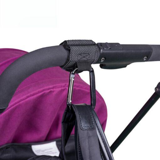 2Pcs Lot Baby Stroller Hook Strong Hanger For Baby Pushchair Prams Poussette Hook Stroller Organizer Hanger 1