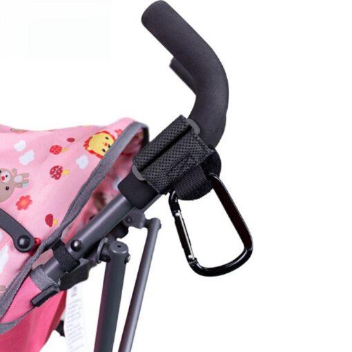 2Pcs Lot Baby Stroller Hook Strong Hanger For Baby Pushchair Prams Poussette Hook Stroller Organizer Hanger 2