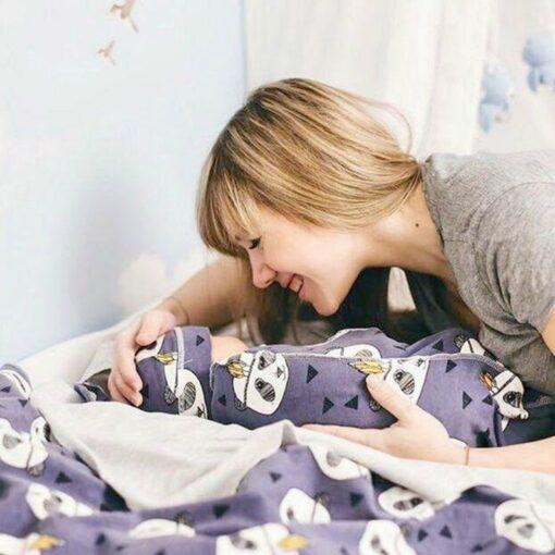 2Pcs Set Baby Swaddle Diaper 100 Cotton Infant Newborn Thin Baby Wrap Envelope Swaddling Swaddleme Sleep 4