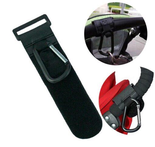 2pcs Baby Stroller Accessories Plastic Baby Car Carriage Hook Random Color bear 3kg Pu Magic Stick 1