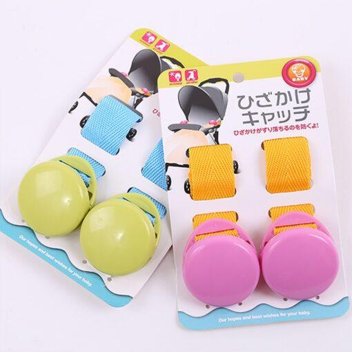 2pcs Baby Stroller Anti Tipi Clip Anti slip Blanket Clip Fasteners Grippers Suspenders Sheet Holder Stroller 4