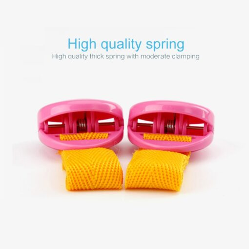 2pcs Set Delicate Baby Stroller Accessory One Lot Glossy Multicolour Anti Tipi Clip Blanket Clip Useful 4