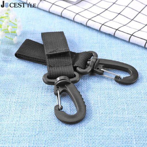 2pcs Set Stroller Hooks Mummy Bag Stroller Pram Hanger Hook Shopping Bag Clip Accessories For Diaper
