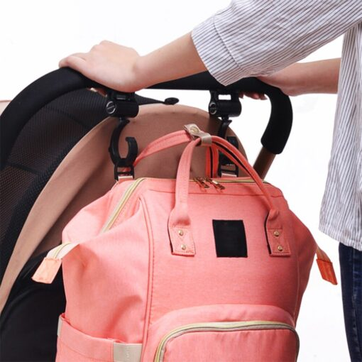 2pcs baby bag hanger baby stroller hooks rotate 360 degree baby car seat accessories stroller organizer 4