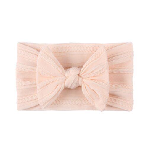 3 5 6 10pcs Children seamless super soft Jacquard nylon headband baby headband cute princess hair 1